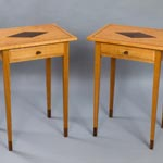 Shetland  Fine Craft - Side Tables in Scottish Cherry